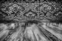 Old wooden room Stock Photography