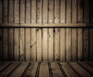Old wooden room Royalty Free Stock Photography