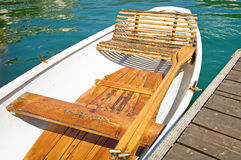 Old rowboat Stock Photo