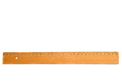Old wooden ruler Stock Photos
