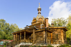Old wooden Russian Orthodox church Royalty Free Stock Image