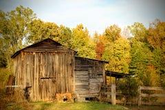 Tobacco barn royalty free stock photo