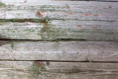 Old wooden rustic material on the wall. Stock Photos