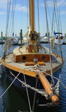 Old Wooden Sail Boat Royalty Free Stock Photo
