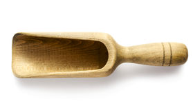 Wooden scoop Stock Photography