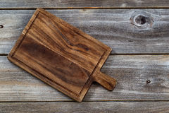 Old Wooden Server Board Stock Photography