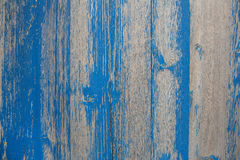 Old wooden shabby chic background with peeled or flaked color in Royalty Free Stock Images