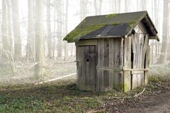 Old wooden shack Royalty Free Stock Image