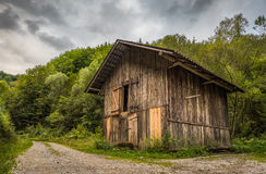 Old Wooden Shack Stock Images