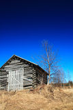 Old wooden shed Royalty Free Stock Photography