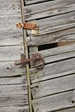 Old Wooden Shed Door Royalty Free Stock Images