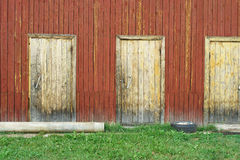 Old wooden shed Stock Image