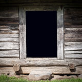 The old wooden shed Royalty Free Stock Images