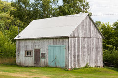 Old Wooden Shed Stock Photo