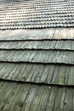 Old wooden shingle roof Royalty Free Stock Photos