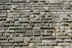 Old Wooden Shingles Stock Images