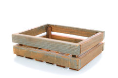 Old Wooden Shipping Crate Stock Photos