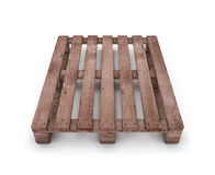 Old wooden shipping pallet Royalty Free Stock Photos