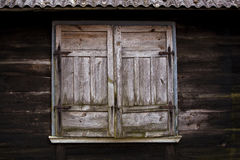Old wooden shutters Royalty Free Stock Photography