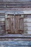 Old Wooden Shutters in an Ancient Florida Building Stock Photos