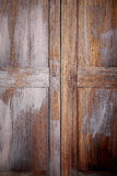 Old wooden shutters Stock Image