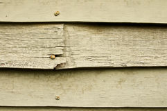 Old wooden siding Royalty Free Stock Photos