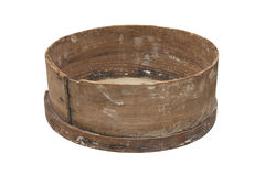 Old wooden sieve Stock Photo