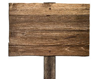 Old Wooden Sign Royalty Free Stock Photos