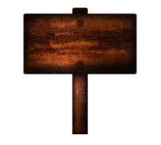 Old wooden sign. Stock Image