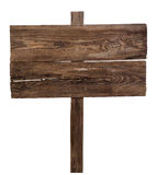 Old wooden signpost Royalty Free Stock Image