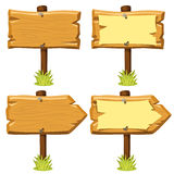 Old wooden signs Royalty Free Stock Image