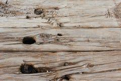 Old wooden sleepers stock image