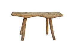 Old wooden stool Stock Photos