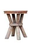 Old wooden stool Stock Images