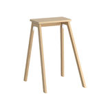 Old wooden stool Stock Image