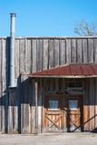 Old wooden store building Stock Photos