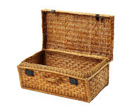 Old wooden suitcase Royalty Free Stock Photos