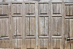 Old wooden surface Stock Image