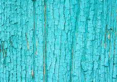Old  wooden surface with cracked and peeling paint Royalty Free Stock Photography