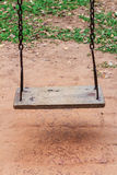 Old wooden swing Royalty Free Stock Photos