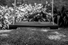 Old Wooden Swing Royalty Free Stock Images