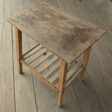 Old wooden table Royalty Free Stock Photography