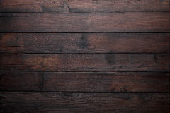 Old wooden table top Royalty Free Stock Image