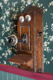 Old Wooden Telephone Royalty Free Stock Image