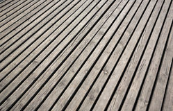 Old wooden terrace Royalty Free Stock Photos