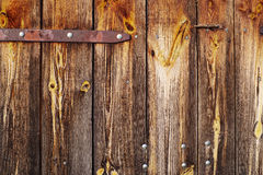 Old wooden textural wall Stock Images