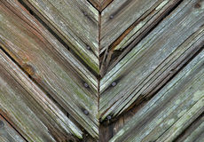Old wooden  textured background Stock Image
