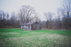 Old Wooden/Tin Barn/Shed Stock Images