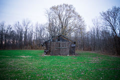 Old Wooden/Tin Barn/Shed Stock Photos