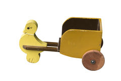 Old wooden toy Royalty Free Stock Photos